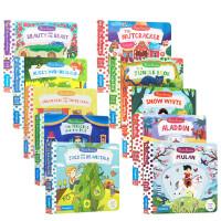 英文进口原版 First Stories BUSY 童话篇系列13册套装 儿童启蒙纸板操作书 幼儿图画故事书 3-6岁亲子阅读边玩边学