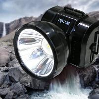 充电式强光头灯工矿钓鱼头灯夜钓鱼灯打 猎户外照明