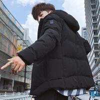 男士外套秋冬季2018新款韩版潮流棉衣服男装冬装个性帅气潮牌夹克