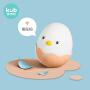 KUB可优比 软胶安抚不倒翁玩具 婴儿安抚玩具 夜灯音乐耐啃咬