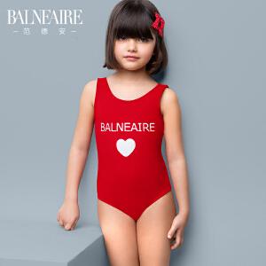 【全场包邮】范德安可爱防晒儿童泳衣 女孩大中童宝宝连体游泳衣沙滩女童泳装