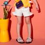 迷你巴拉巴拉女童短裤新款夏季儿童宝宝韩版荷叶边短裤时尚