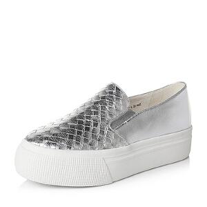 Teenmix/天美意秋专柜同款女单鞋6N621CM6