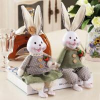 新房摆件家居饰品动物客厅装饰摆件娃娃树脂摆设工艺品
