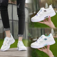 板鞋女鞋2018新款韩版百搭学生厚底休闲运动鞋单鞋小白鞋子春夏季女鞋