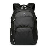 嘉迪奴电脑双肩包男时尚潮流大学生书包电脑包商务旅行背包