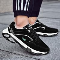 卡帝乐鳄鱼2018年秋季男鞋运动鞋韩版百搭旅游鞋学生鞋男鞋