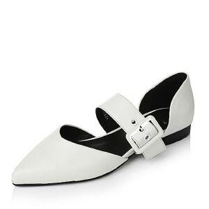 【百丽集团夏季大促,5.28准时开抢】Tata/他她2017年春季羊皮女皮鞋2R135AK7春季新款