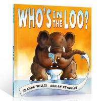 【全店300减100】英文原版童书 Who's in the Loo? 谁在厕所呢?红房子图书奖 培养如厕习惯 儿童启蒙