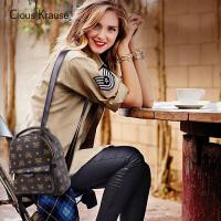 【1件3折,到手价:98.7元】Clous KrauseCK19新款包包双肩包拉链印花背包休闲百搭轻便女士包包多功能潮