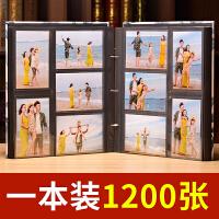 大容量儿童家庭 5寸6寸1200张 过塑照片可放 相册影集相册本插页式