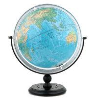 【正版全新直�l】博目地球�x:30cm中英文地形地球�x(�f向支架) 北京博目地�D制品有限公司 9787503040016