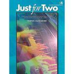 【预订】Just for Two, Bk 4: A Collection of 8 Piano Duets in