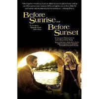 【现货】原版英文 Before Sunrise & Before Sunset 爱在黎明破晓前+爱在日落黄昏时 奥斯卡