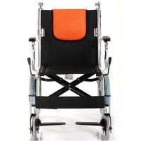 鱼跃轮椅车H056C 充气护理折背型 铝合金轻便可折叠免充气 男女适用 更多优惠搜索【好药师轮椅】操作简单 安全可靠