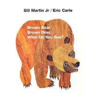 【现货】 英文原版儿童绘本Brown Bear, Brown Bear, What Do You See? Board