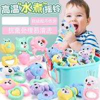 新生婴儿玩具6个月男孩益智幼儿牙胶手抓摇铃女孩宝宝0-1岁小孩3