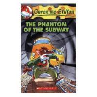 英文原版 老鼠记者 13:地铁幽灵 Geronimo Stilton #13: The Phantom Of The