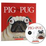 【中商原版】哈巴狗比格 英文原版 Pig the Pug 附CD 学乐品格教育绘本 畅销 轻松幽默 学会分享 为人处事