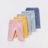 [限时3折价:47.1]戴维贝拉秋装儿童裤子 宝宝休闲打底裤DB7870