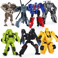 变形玩具金刚迷你汽车机器人全套模型套装男孩玩具