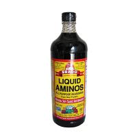 美国进口Bragg氨基酸酱油946ml 布拉格宝宝酱油 非转基因无盐酱油
