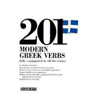 【预订】201 Modern Greek Verbs