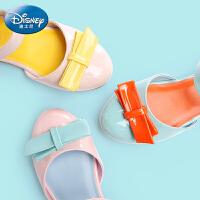 迪士尼童鞋2017春季新款小童学生鞋单鞋女童公主鞋皮鞋儿童舞蹈鞋 DS1951