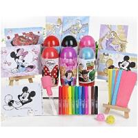 智高kk喷喷笔 迪士尼12色/24色水彩笔绘画工具套装益智玩具