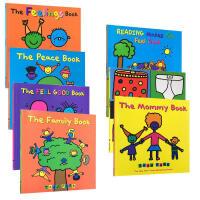 【全店300减100】Todd Parr经典7本平装大开本套装 Todd Parr的绘本将焦点都汇聚于孩子生活的世界 从