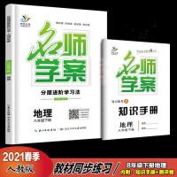 2021版 名师学案 数学八年级下册分层进阶学习法 附手册+试卷+答案
