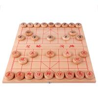 吉妮兔木制中国象棋折叠棋盘古典益智儿童玩具老少皆宜