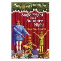 【现货】英文原版儿童书 Stage Fright on a Summer Night 神奇树屋系列25:仲夏夜惊梦 新
