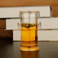 230ML耐热玻璃杯加厚红茶杯双耳玻璃泡茶器过滤带盖功夫茶具套装茶壶红茶杯功夫茶具套装