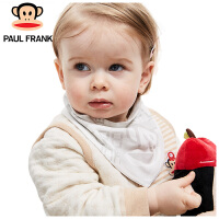 PWA1743074大嘴猴(Paul Frank) 婴幼儿 纯棉口水巾小怪物三角巾38x16cm 2条/袋