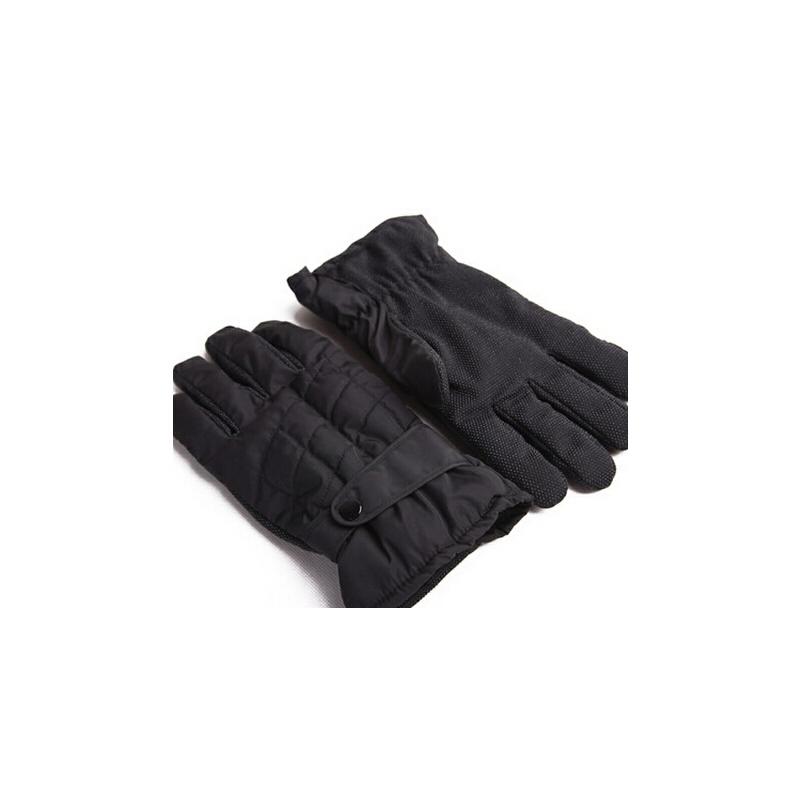 秋冬新品全手掌双层内里加绒保暖手套防滑手套男士骑车