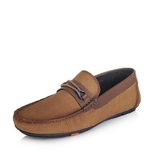 BATA/拔佳牛皮革休闲男单鞋A8S55CM6