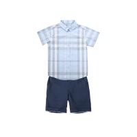 网易严选 小绅士英伦短袖短裤套装(婴童)