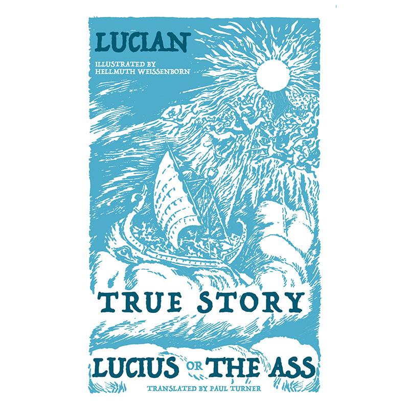 【中商原版】琉善故事选:《真实的故事》和《驴》英文原版 Alma Classics:True Story, Lucius, or the Ass
