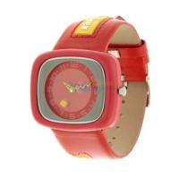 聚利时淘气宝贝 靓丽时尚卡通儿童手表男孩女孩手表 靓丽红色