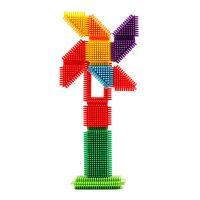 齿形积木玩具塑料拼插积木拼装积木儿童玩具