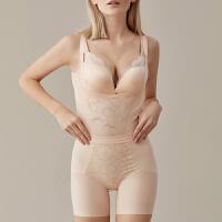 依曼丽美体塑身连体衣后脱式 无痕修身显瘦塑身衣套装YN17616