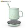 小熊(Bear)保温杯垫 恒温加热杯垫保温底座陶瓷玻璃杯养生暖杯器办公室茶具配件暖牛奶神器 DRBD-A16B1