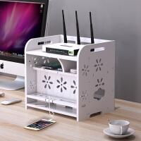 路由器收纳盒电线wifi插座插排插线板整理集线盒