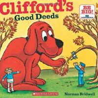 英文原版Clifford'S Good Deeds (8X8) 大红狗做好事