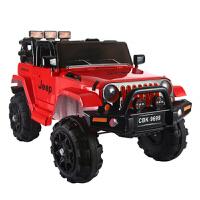 儿童电动越野车1-7岁大号双驱四轮可坐人充气轮小孩遥控汽车宝宝玩具车