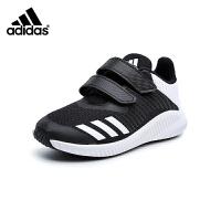 阿迪达斯Adidas童鞋18秋新款儿童运动鞋时尚小童透气跑步鞋男童户外休闲鞋 (5-10岁可选) F34381