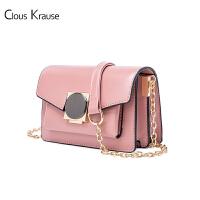 Clous Krause CK女包百搭潮流链条包 时尚简约欧美范单肩包女士斜跨小方包