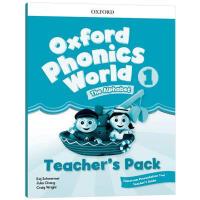 牛津自然拼读教材教师书1 英文原版 Oxford Phonics World Level 1 Teacher's Pa