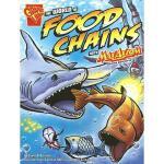 【预订】The World of Food Chains with Max Axiom, Super